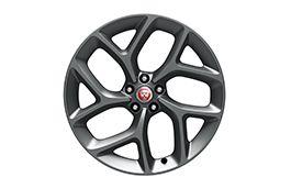 """Alloy Wheel - 20"""" Style 1014, 10 spoke, Satin Grey, Rear"""